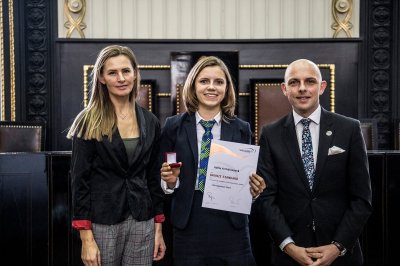 The Bronze Award Ceremony in Prague (10 am), 12/12/2019