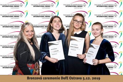 The Bronze Award Ceremony in Ostrava, 5/12/2019